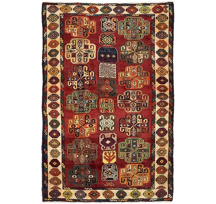 4' 3 x 6' 7 Ardabil Persian Rug