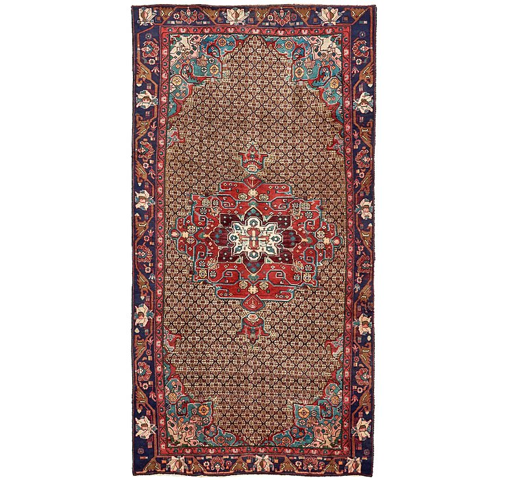 5' x 9' 6 Koliaei Persian Rug