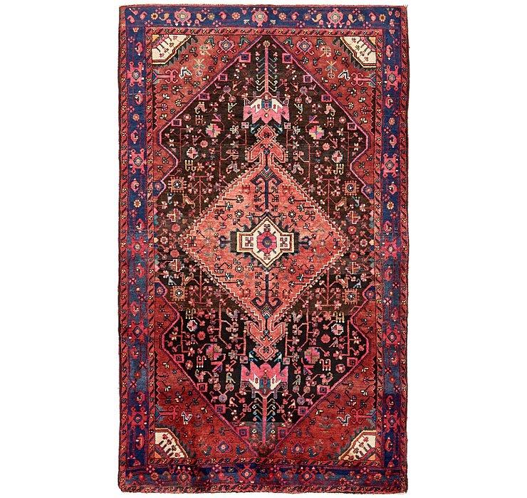 4' 9 x 8' Hamedan Persian Rug