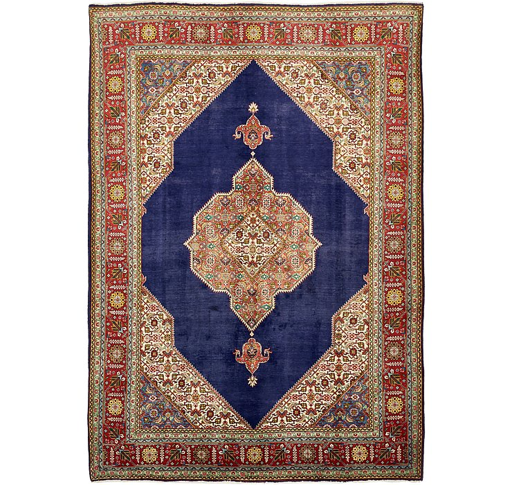 HandKnotted 8' x 11' 3 Tabriz Persian Rug