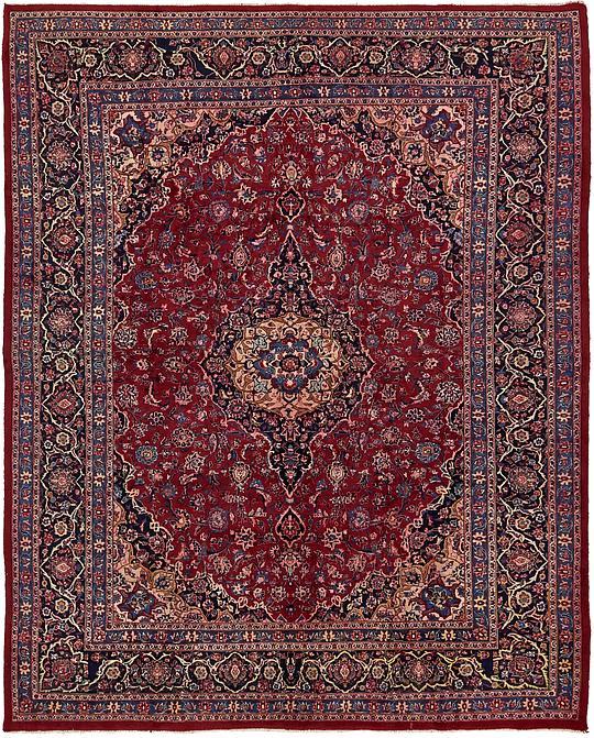 Red 10 3 X 12 9 Mashad Persian Rug Persian Rugs