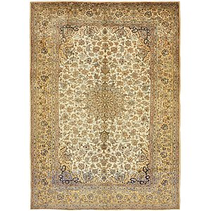 9' 8 x 13' 4 Isfahan Persian Rug