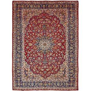 Perfect 9u0027 10 X 13u0027 7 Isfahan Persian Rug
