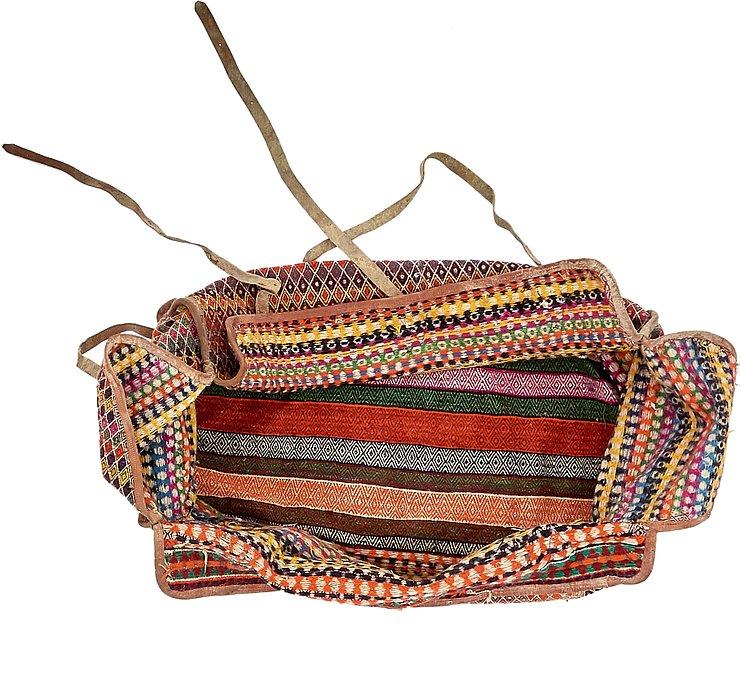 5' 2 x 7' 10 Saddle Bag Rug