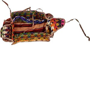 4' 5 x 7' 11 Saddle Bag Rug