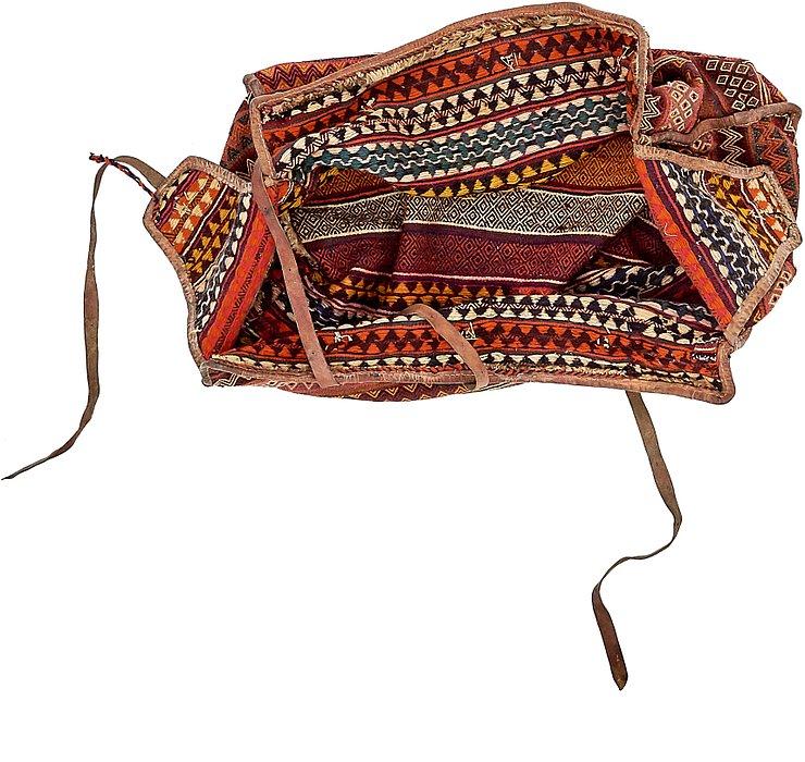 4' 11 x 7' 11 Saddle Bag Rug