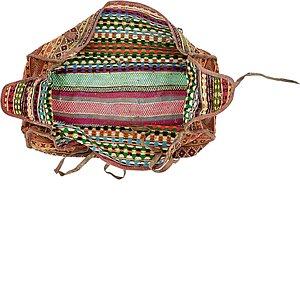 Unique Loom 4' 11 x 7' 11 Saddle Bag Rug