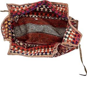 4' 11 x 8' Saddle Bag Rug