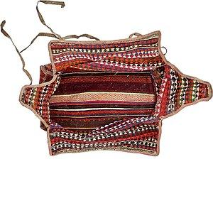 5' 2 x 6' 5 Saddle Bag Rug