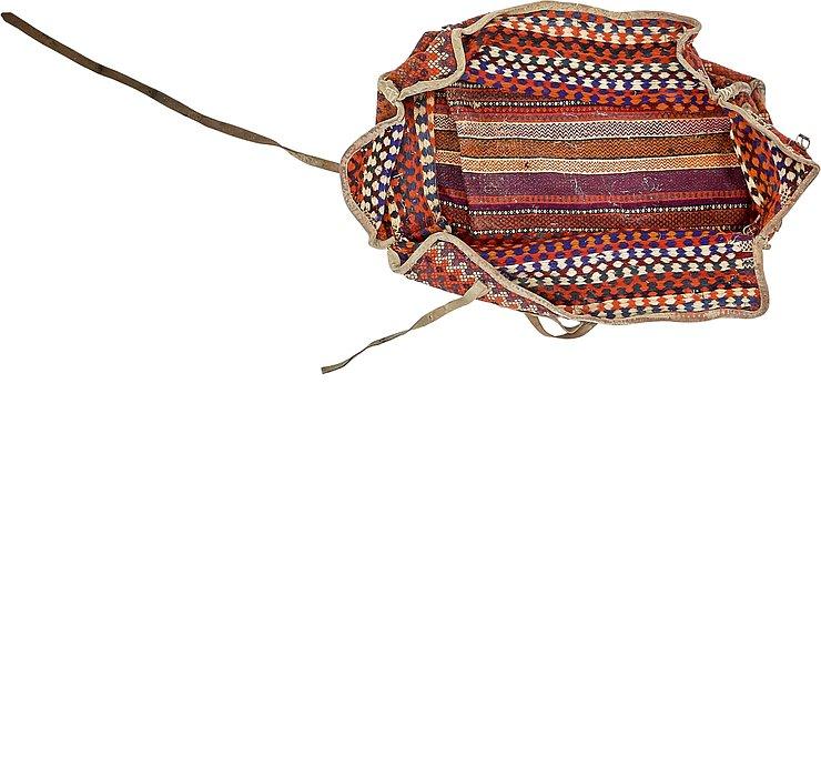 4' 6 x 6' 1 Saddle Bag Rug