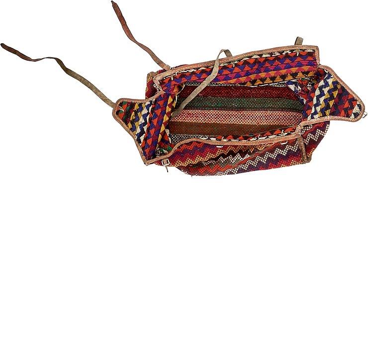 4' 3 x 6' 11 Saddle Bag Rug