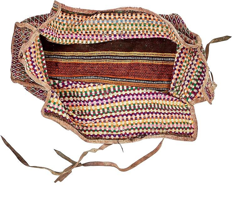 4' 8 x 7' 8 Saddle Bag Rug