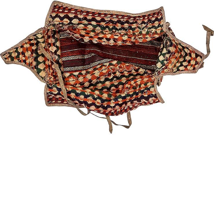 4' 3 x 7' 1 Saddle Bag Rug