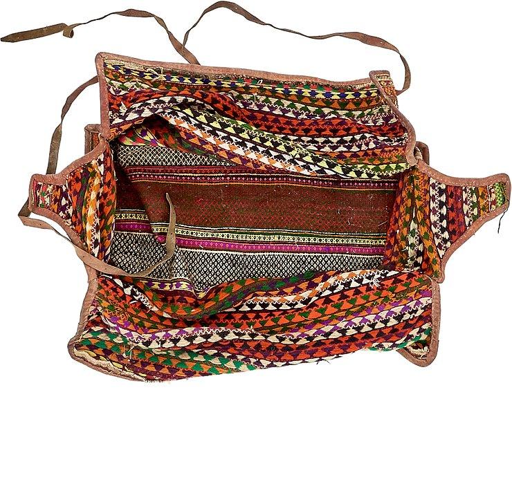 5' 8 x 7' 3 Saddle Bag Rug
