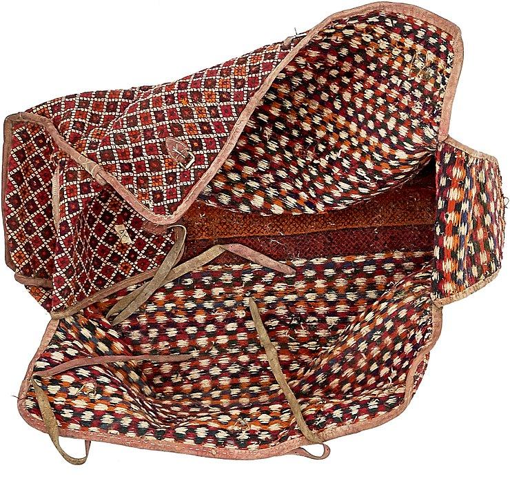 5' 4 x 8' 6 Saddle Bag Rug