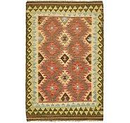 Link to Unique Loom 3' 2 x 4' 11 Kilim Maymana Rug