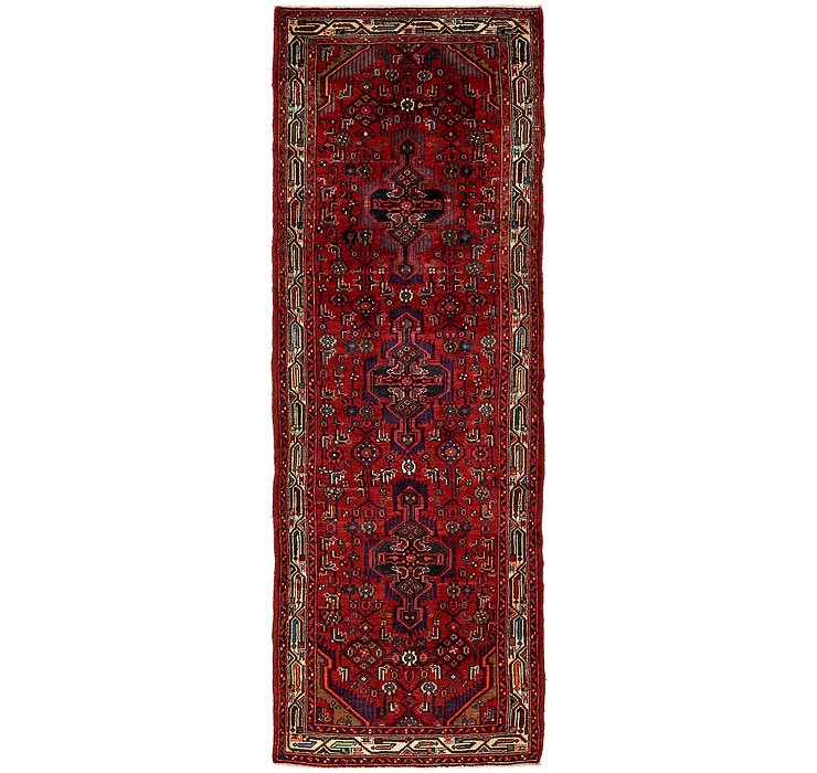 3' 7 x 10' 10 Darjazin Persian Runner...
