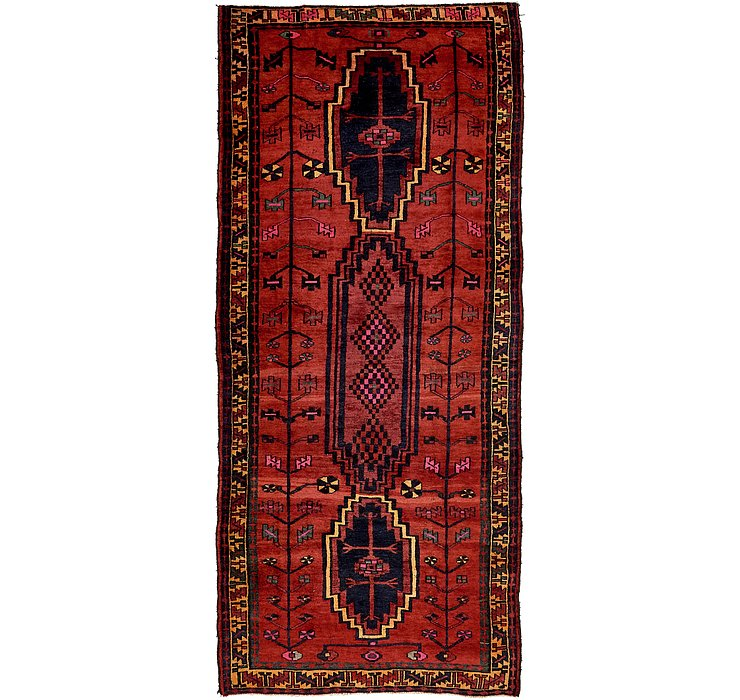 4' 10 x 11' 1 Shiraz Persian Runner Rug