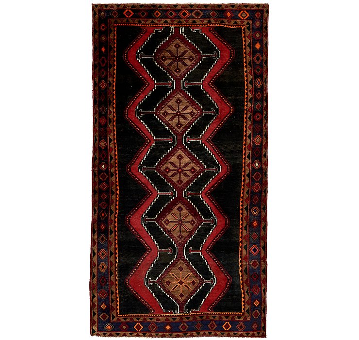 4' 9 x 9' 6 Chenar Persian Runner Rug
