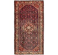 Link to 152cm x 302cm Hossainabad Persian Runner Rug