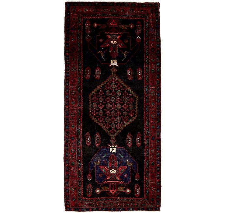 4' 5 x 10' Sirjan Persian Runner Rug