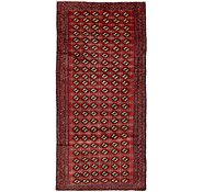 Link to 4' 2 x 9' 3 Bokhara Oriental Runner Rug