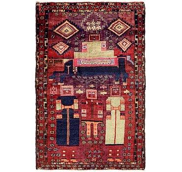 132x211 Shiraz Rug