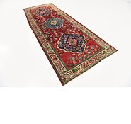 Link to 3' 7 x 9' 5 Tabriz Persian Runner Rug