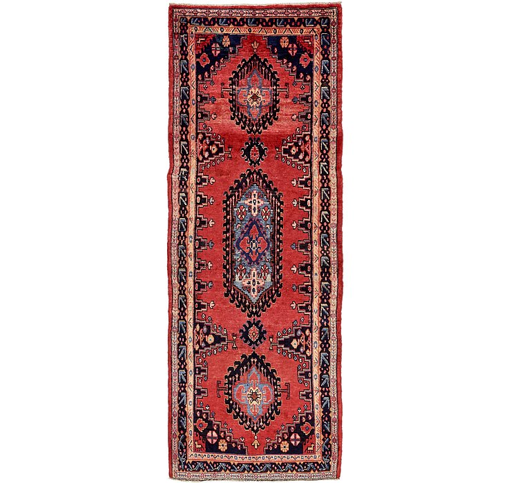 3' 8 x 10' 8 Viss Persian Runner Rug