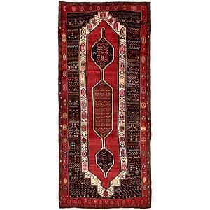 4' 7 x 10' Sirjan Persian Runner Rug