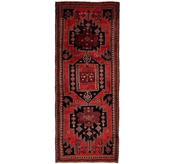 4' x 10' 10 Mazlaghan Persian Runne...