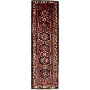 HandKnotted 3' 10 x 13' 4 Meshkin Persian Runner ...