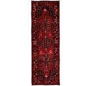 Link to Unique Loom 3' 5 x 10' 2 Hamedan Persian Runner Rug