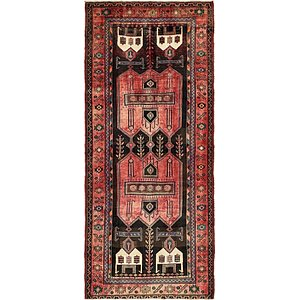 Unique Loom 4' 10 x 11' Sirjan Persian Runner Rug
