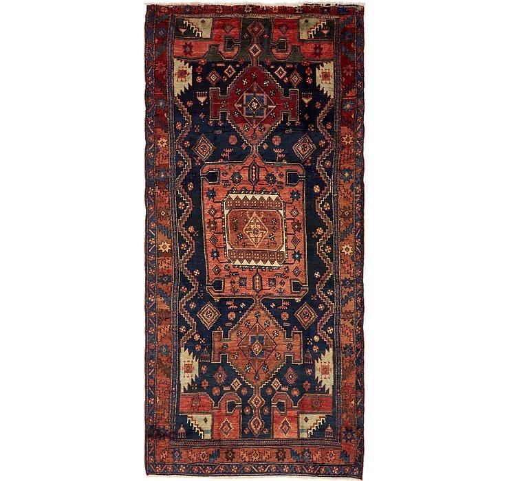 4' 6 x 10' 2 Zanjan Persian Runner Rug