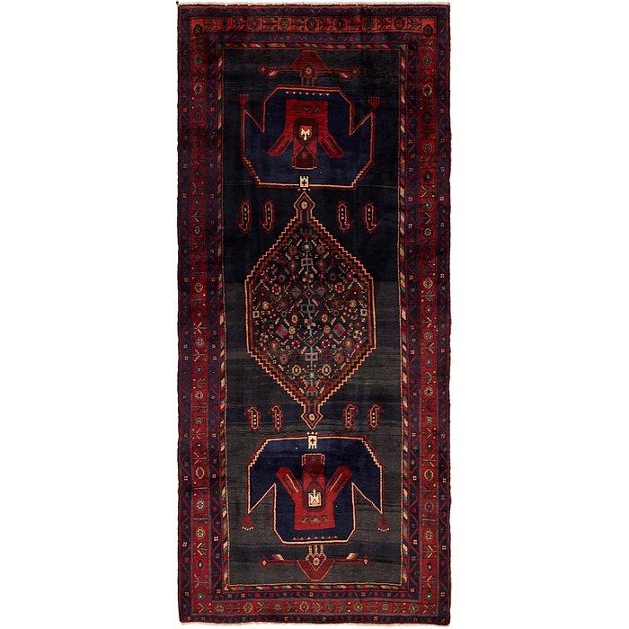 4' 8 x 11' Zanjan Persian Runner Rug