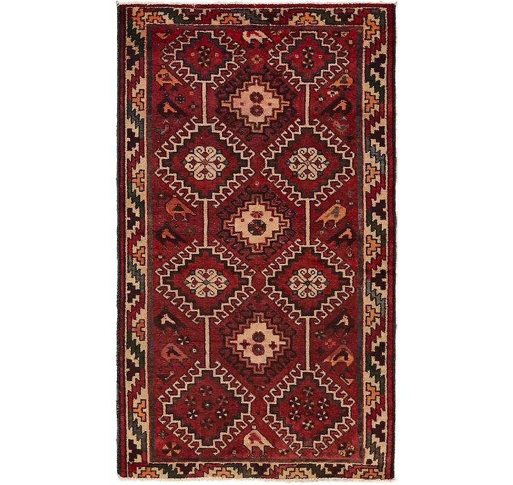 4' 2 x 7' 5 Ferdos Persian Rug