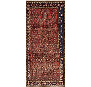 Link to 127cm x 287cm Hossainabad Persian Runner Rug