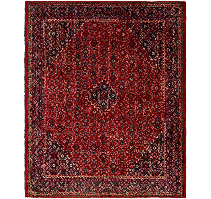 10' 6 x 12' 10 Mahal Persian Rug