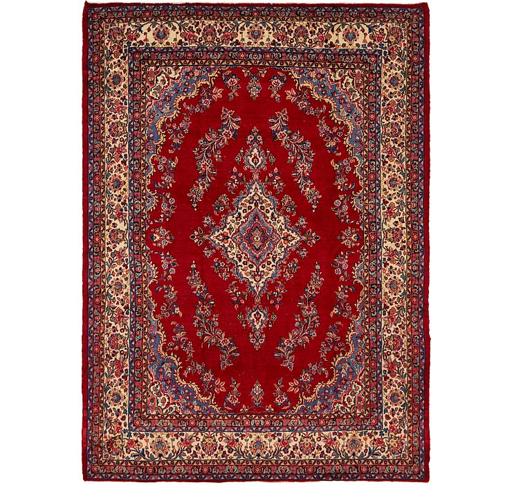 9' x 12' 4 Hamedan Persian Rug