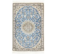 Link to 3' x 4' 7 Nain Persian Rug