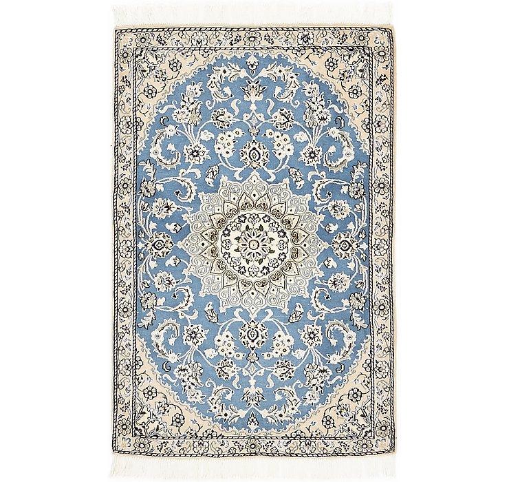 3' x 4' 7 Nain Persian Rug
