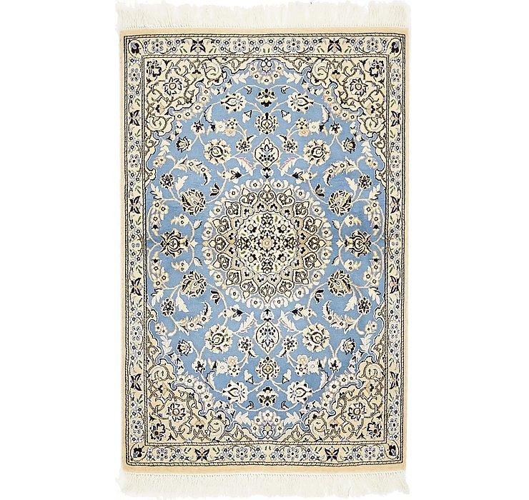 2' 6 x 4' 6 Nain Persian Rug