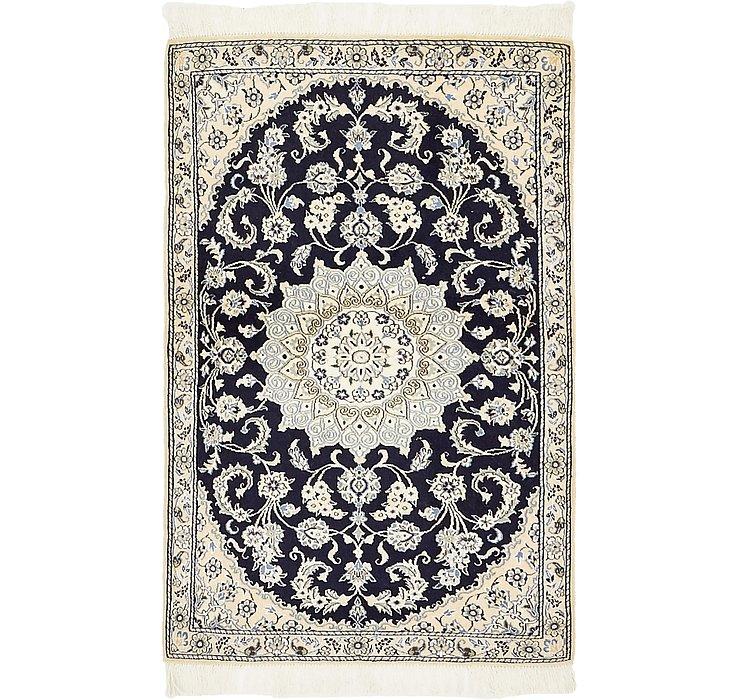 2' 11 x 4' 6 Nain Persian Rug