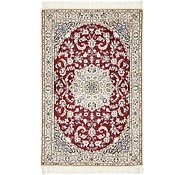 Link to 3' 3 x 5' Nain Persian Rug