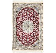 Link to 100cm x 152cm Nain Persian Rug