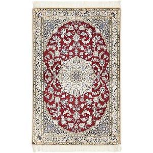 3' 3 x 5' Nain Persian Rug