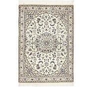 Link to 97cm x 140cm Nain Persian Rug