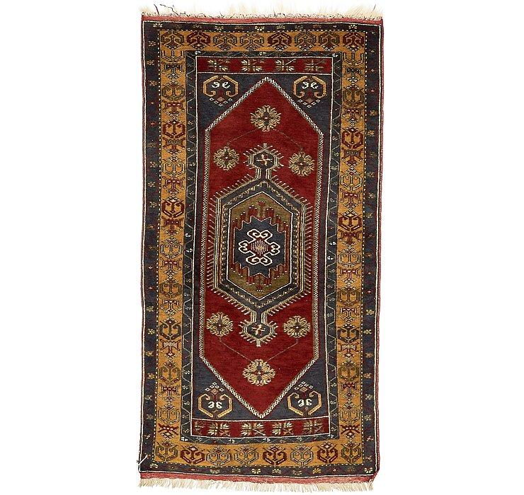 3' 6 x 6' 9 Kars Oriental Rug