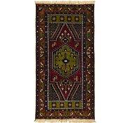 Link to 3' 7 x 7' Kars Oriental Runner Rug